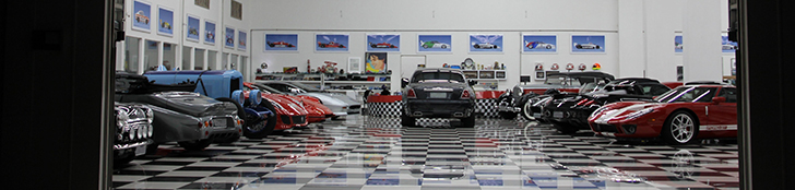 This is Nelson Piquet senior's unique car collection