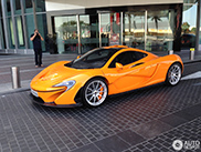 McLaren P1 is very popular in Dubai