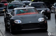Spyker C8 Laviolette SWB shows up in rainy Brazil