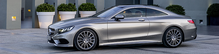 Mercedes-Benz S-Class Coupé is ready for its competitors