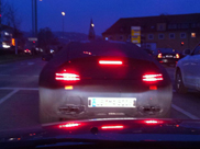 Promising spyshots of the SLC AMG!