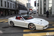 Ferrari Superamerica is the start of spring in Zurich