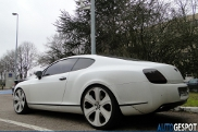 Strange sighting: Bentley Continental GT Snake Skin Project by Dartz