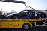 Gemballa crasht McLaren MP4-12C op Nrburgring