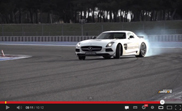 Movie: Chris Harris smokes tires with the SLS AMG Black Series