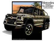 Mercedes Sahara G-eopard: one off door Dartz