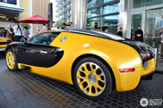 Sublime colour combination on a Bugatti Veyron 16.4 Grand Sport