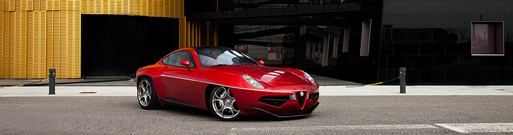 Carrozzeria Touring Disco Volante: zes stuks de weg op!  