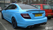 You can't miss it: Mercedes-Benz C 63 AMG Coupe