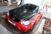Spotted: Mercedes-Benz CLK 63 AMG Black Series in a brutal colour