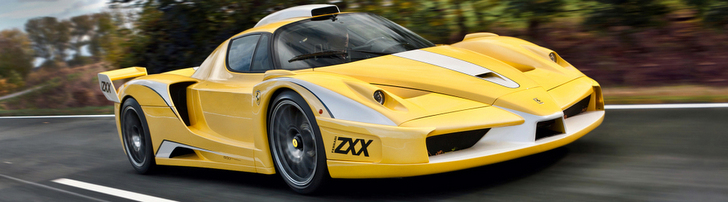 Special Ferrari Enzo ZXX is now spotted!