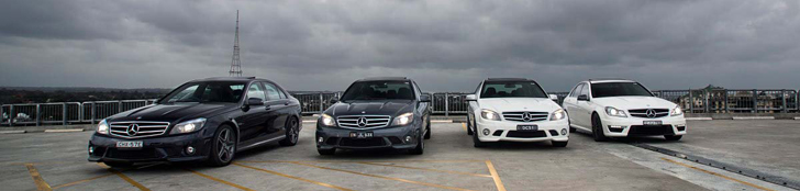 Report: Spending a day with four Mercedes-Benz AMGs!