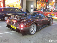 Pagani Zonda 760 Fantasma spotted in Hong Kong