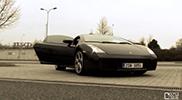 Movie: Raul shows his Lamborghini in Prague