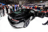 Geneva 2014: Aston Martin DB9 Carbon Black & White