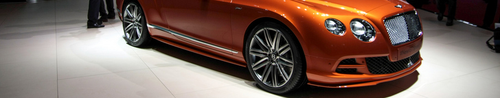 Geneva 2014: Bentley Continental GT Speed