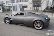 Spotted: Davide Testi and his son in a Pagani Huayra!