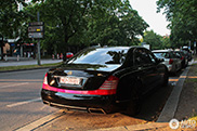 Gespot: Maybach 62 S met Auto Couture bodykit
