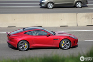 Spotted: José Mourinho in his Jaguar F-TYPE S Coupé