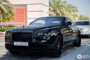 Rolls-Royce Wraith is perfect for an action movie!
