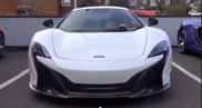 McLaren 650S is especially noisier!