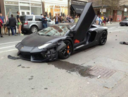 Video: Lamborghini Aventador LP700-4 in London gecrasht!