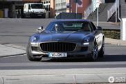 This Mercedes-Benz SLS AMG looks muzzled!