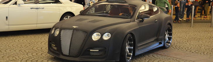 Bentley is completely ruined by a Tetsu GTR bodykit