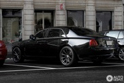 Sinister Rolls-Royce Ghost shows up in Zurich