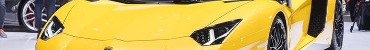 Lamborghini Aventador LP750-4 Superveloce is een spierbundel