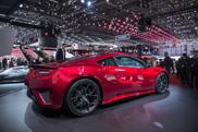 Geneva 2015: Honda NSX