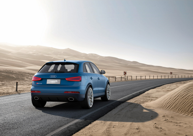 Audi RS Q3 Concept te zien in Peking