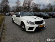 Spot van de dag: Mercedes-Benz C 63 Black Series