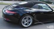Newest 991-version captured: the Targa