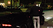 Movie: with three persons in a Lamborghini Aventador LP700-4