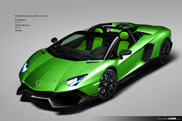 A lot of colours for the Lamborghini Aventador LP720-4 50 Anniversario