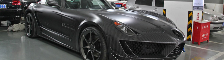 Une exceptionnelle Mercedes-Benz SLS AMG Mansory Cormeum