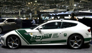 Another new toy for the Dubai police: Ferrari FF