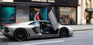 Showing off in your Aventador; you're doing it wrong