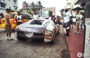 Flo Rida spotted in his Bugatti Veyron 16.4