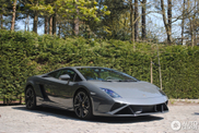 Lamborghini Gallardo LP560-4 2013 looks great in grey
