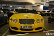 Spotted: Bentley Continental GT in a unique colour