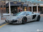 Spotted: McLaren MP4-12C with an extraordinary wrap