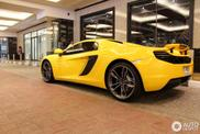 Spotted: exotic McLaren MP4-12C Spider