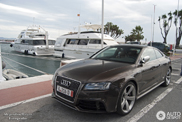 Very brown Audi RS5 snapped in Marbella