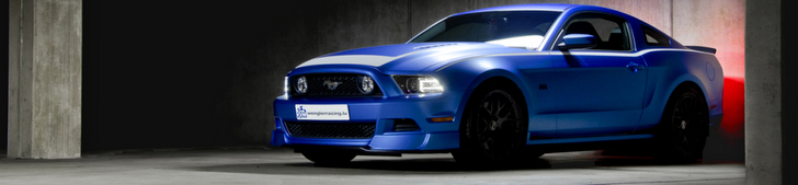 Spotted: Ford Mustang RTR with beautiful pictures