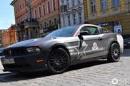 Eenmalig geproduceerde Ford Mustang Blackbird SR-71 gespot 