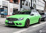 Mercedes-Benz C 63 AMG Estate in a sparkling colour!