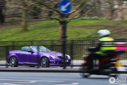 Does purple make the Mercedes-Benz SLK a womens car?
