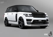 German Special Customs arbeitet am neuen Range Rover